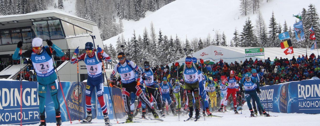 Швеция стала победителем мужской эстафеты на Кубке мира по биатлону, украинцы провалились