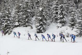 Мужская сборная Украины по биатлону финишировала в топ-10 эстафеты на Кубке мира в Рупольдинге