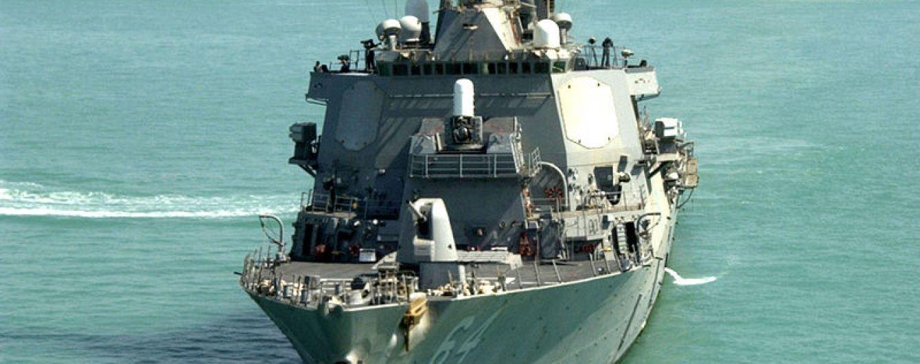 """В Черное море зашел эсминец ВМС США """"Карни"""""""