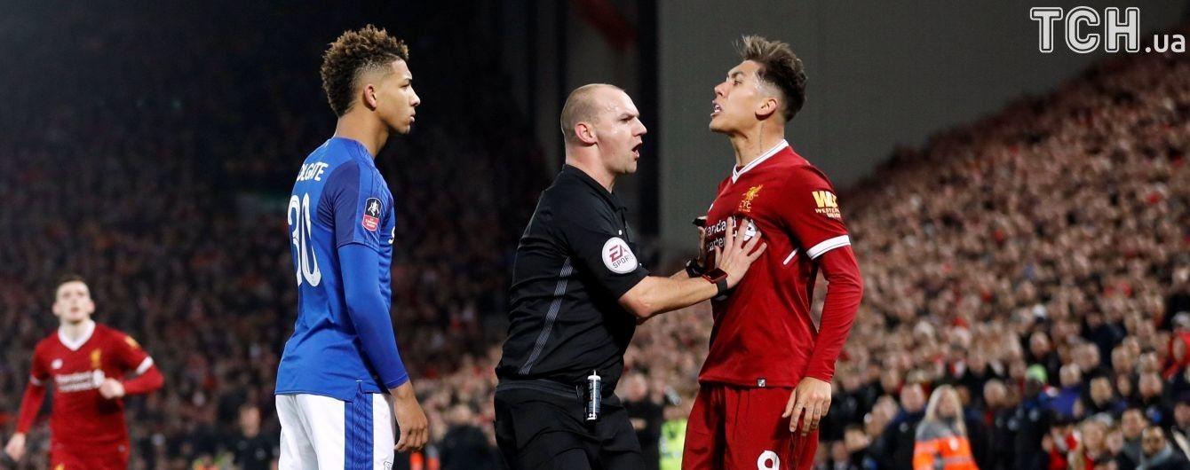 """Нападающий """"Ливерпуля"""" обругал соперника расистскими словами и может получить дисквалификацию"""