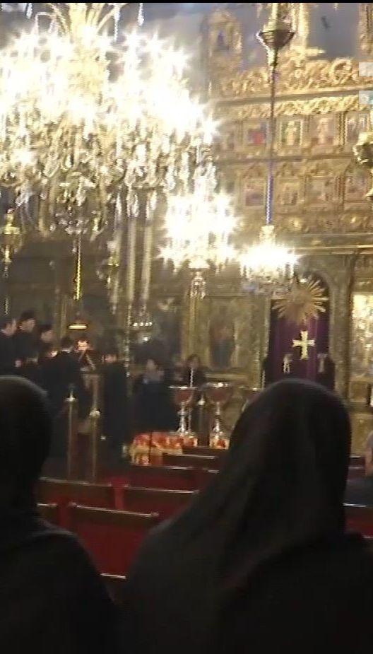 Украинцы в Стамбуле приняли участие в освященные Босфора в день Крещения по новому календарю