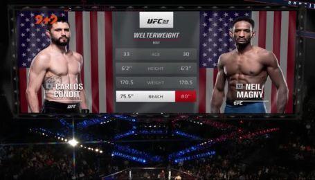 UFC 219. Нил Магни - Карлос Кондит. Видео боя
