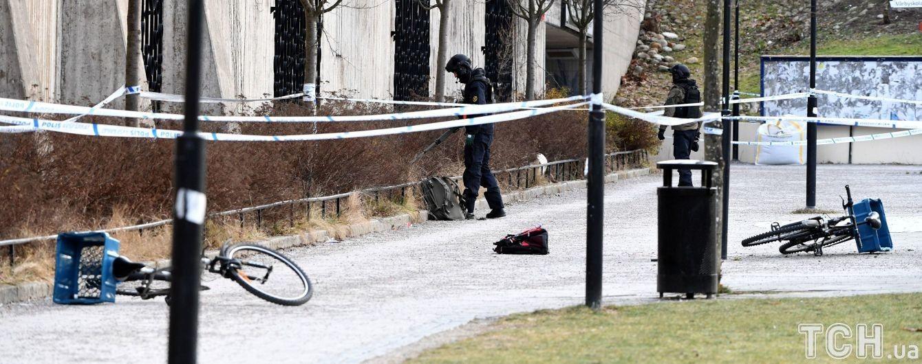 Из-за взрыва возле метро в Стокгольме погиб мужчина