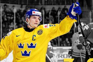 Шведский хоккеист расстроился поражением и выбросил медаль чемпионата мира-2018