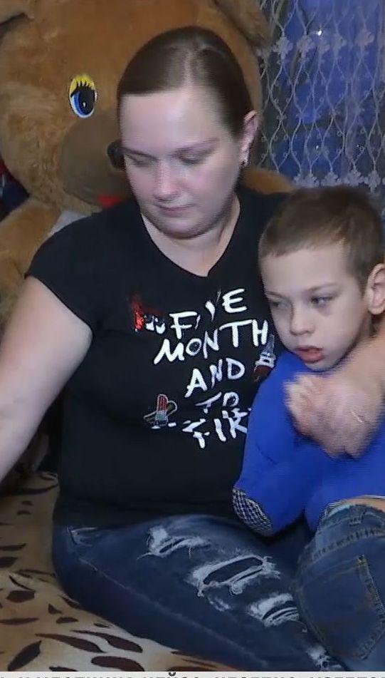 Матір-одиначка з Хмельницького сподівається на допомогу небайдужих у лікуванні сина