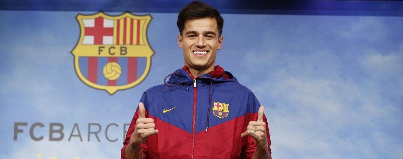 """""""Барселона"""" представила Коутиньо журналистам, но контракт с ним еще не подписала"""