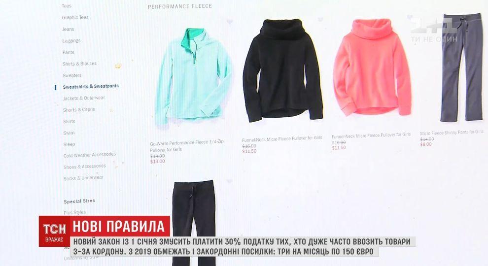 9086bb48721 Пошлины на посылки из-за границы  что ждет украинцев после изменения ...