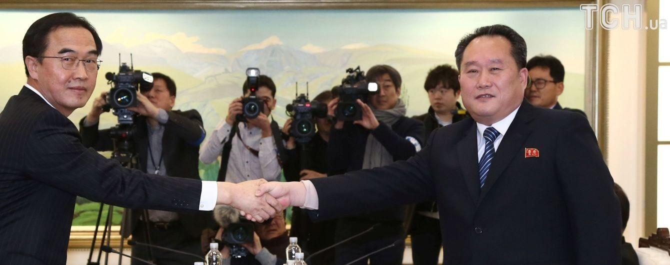 Після тривалої перерви КНДР та Південна Корея вперше провели переговори
