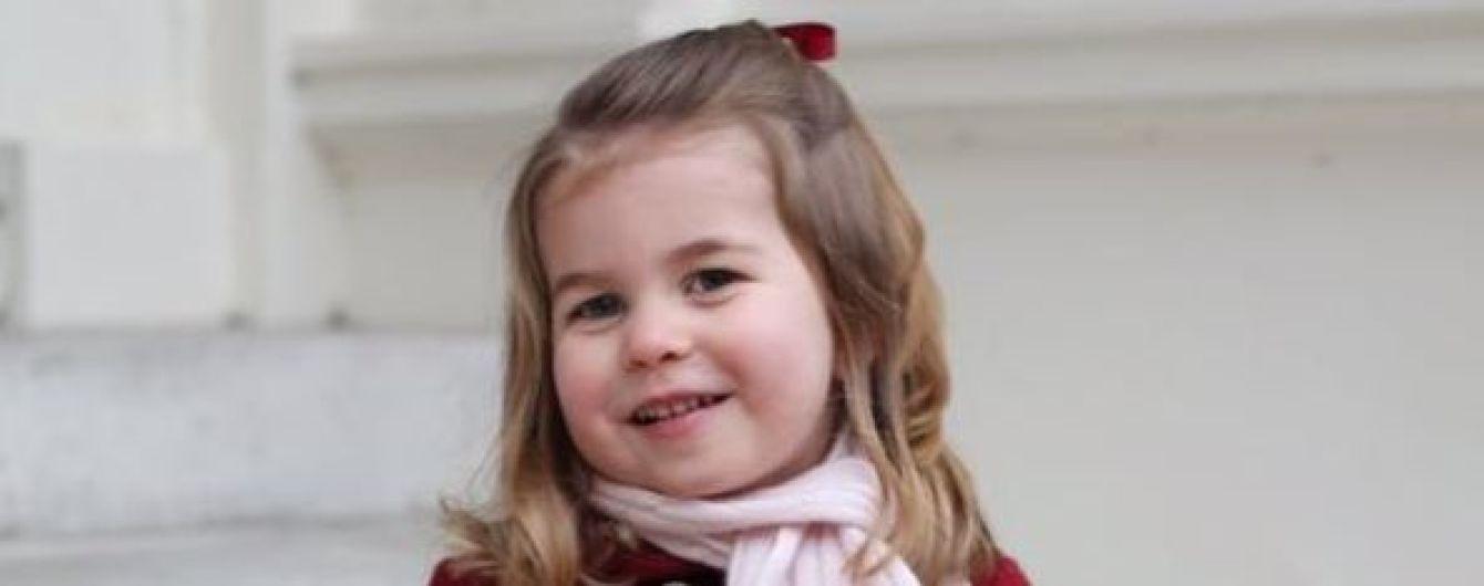 У Мережі з'явилися зворушливі фото підрослої принцеси Шарлоти, зроблені Кейт Міддлтон