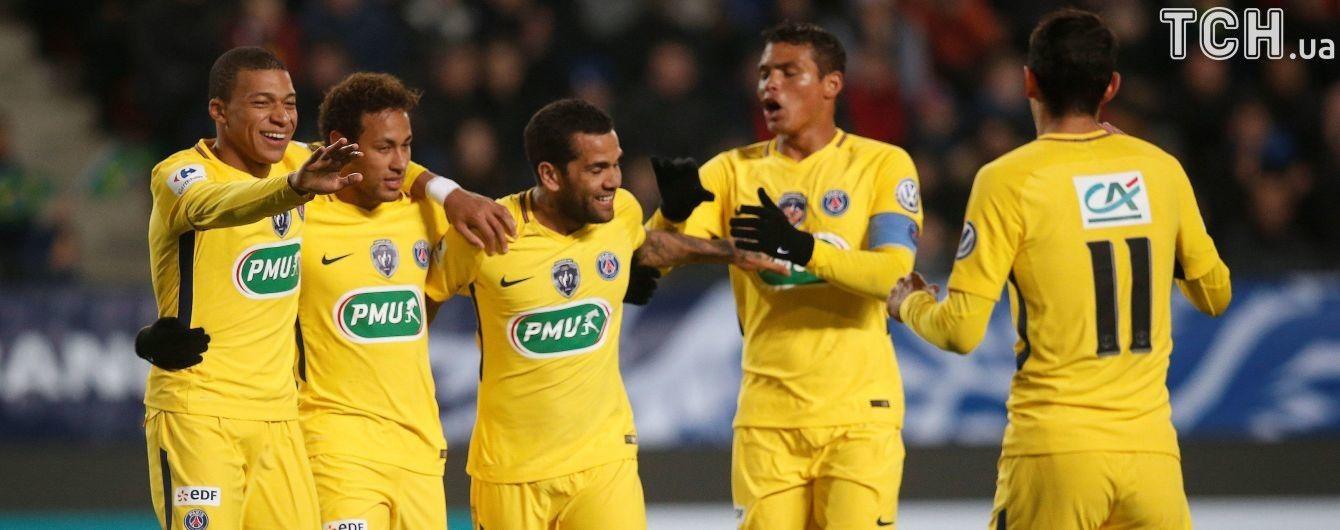 Футболисты ПСЖ разыграли комбинацию, которая заставит аплодировать даже болельщиков соперника