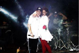 Марія Яремчук відсвяткувала Різдво у компанії відомого українського співака