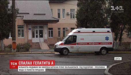 В Николаеве количество больных гепатитом А увеличилась до 62 человек