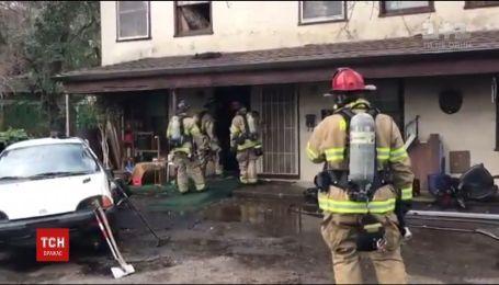 В Калифорнии мужчина сжег дом через паука