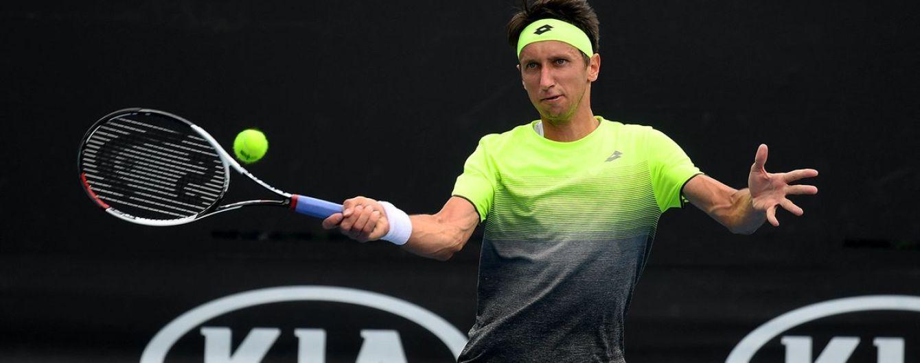 Українець Стаховський втратив перемогу на старті кваліфікації Australian Open