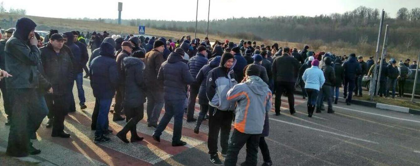 Блокування доріг до Польщі у двох західних областях завершилося