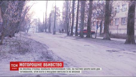 У лісі на околиці столиці знайшли розчленоване тіло