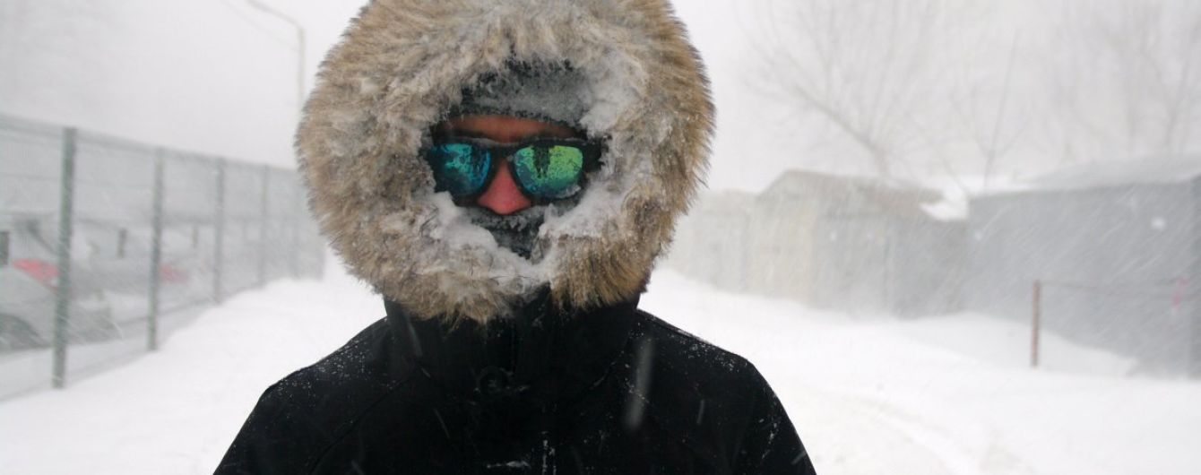 В Украину идут крещенские морозы: синоптики предупредили о резком похолодании до -20 градусов