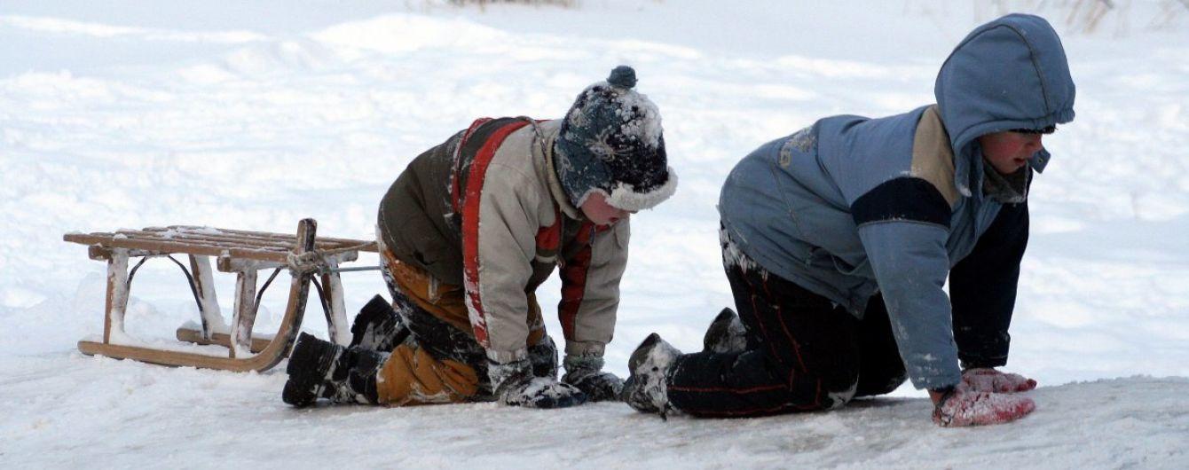 Синоптики попередили про ожеледицю та мороз у Києві