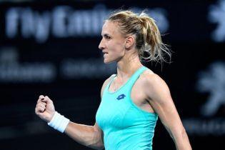 Цуренко вышла в полуфинал престижного турнира в Брисбене