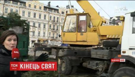 Главную елку страны переработают публично на Софийской площади
