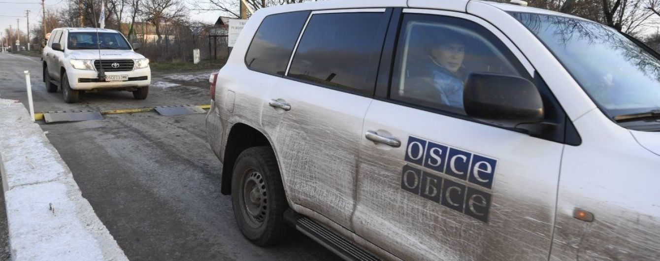 """У """"ДНР"""" заявили, що вибухи в Донецьку мали """"налякати ОБСЄ"""""""