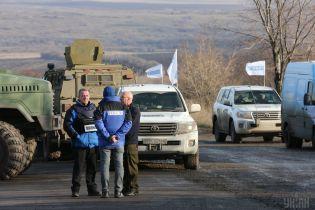 Беспилотник ОБСЕ обстреляли под Донецком