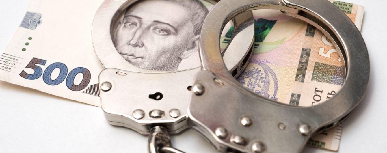 У Києві на хабарі у 35 тис. гривень затримали слідчого поліції