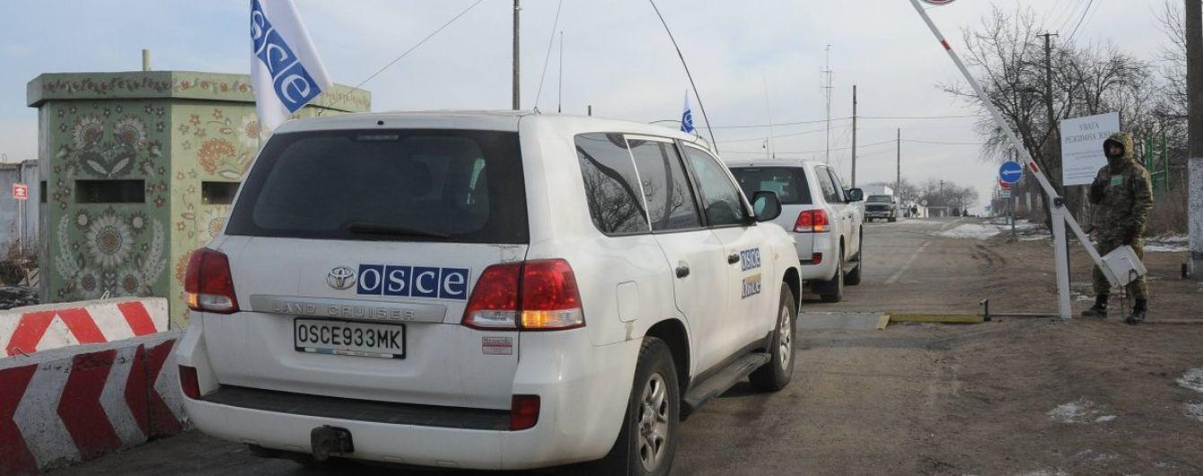 На Донеччині поблизу лінії фронту через глушіння сигналу розбився безпілотник ОБСЄ