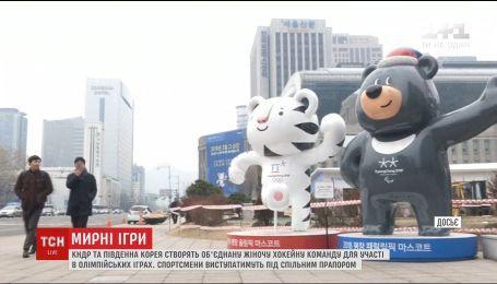 КНДР и Южная Корея будут выступать под общим флагом на открытии зимних олимпийских игр