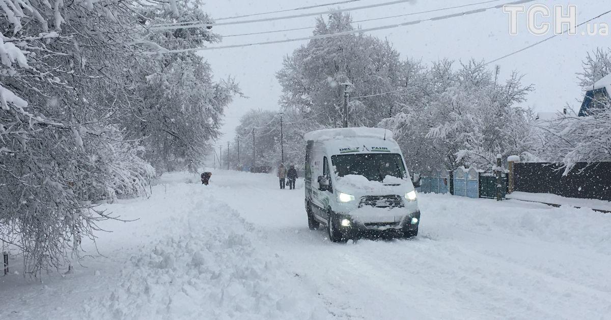 Украину снова завалит снегом: штормовое предупреждение на 1 февраля