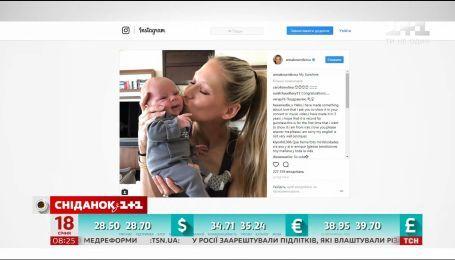 Анна Курникова и Энрике Иглесиас наконец-то показали своих детей