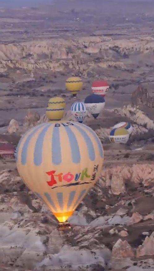 Мій путівник. Туреччина – політ на повітряній кулі та підземне місто