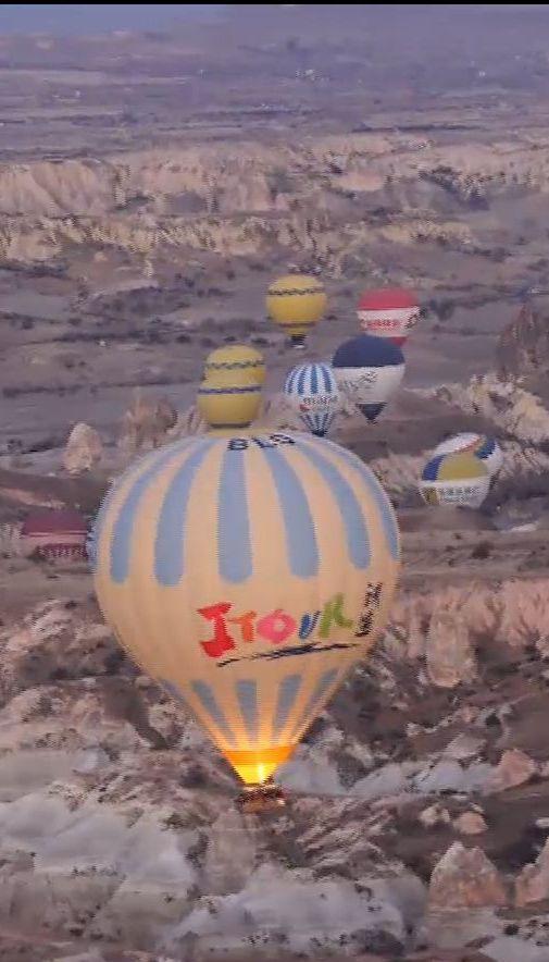 Мой путеводитель. Турция - полет на воздушном шаре и подземный город