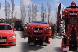 BMW превратили в настоящий трансформер