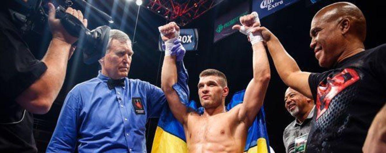 Бій за участю небитого українця Дерев'янченка проти американця скасований