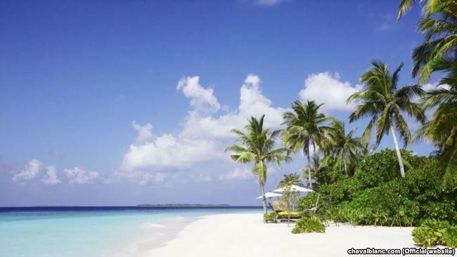 Острів на Мальдівах, де відпочивав Порошенко_1