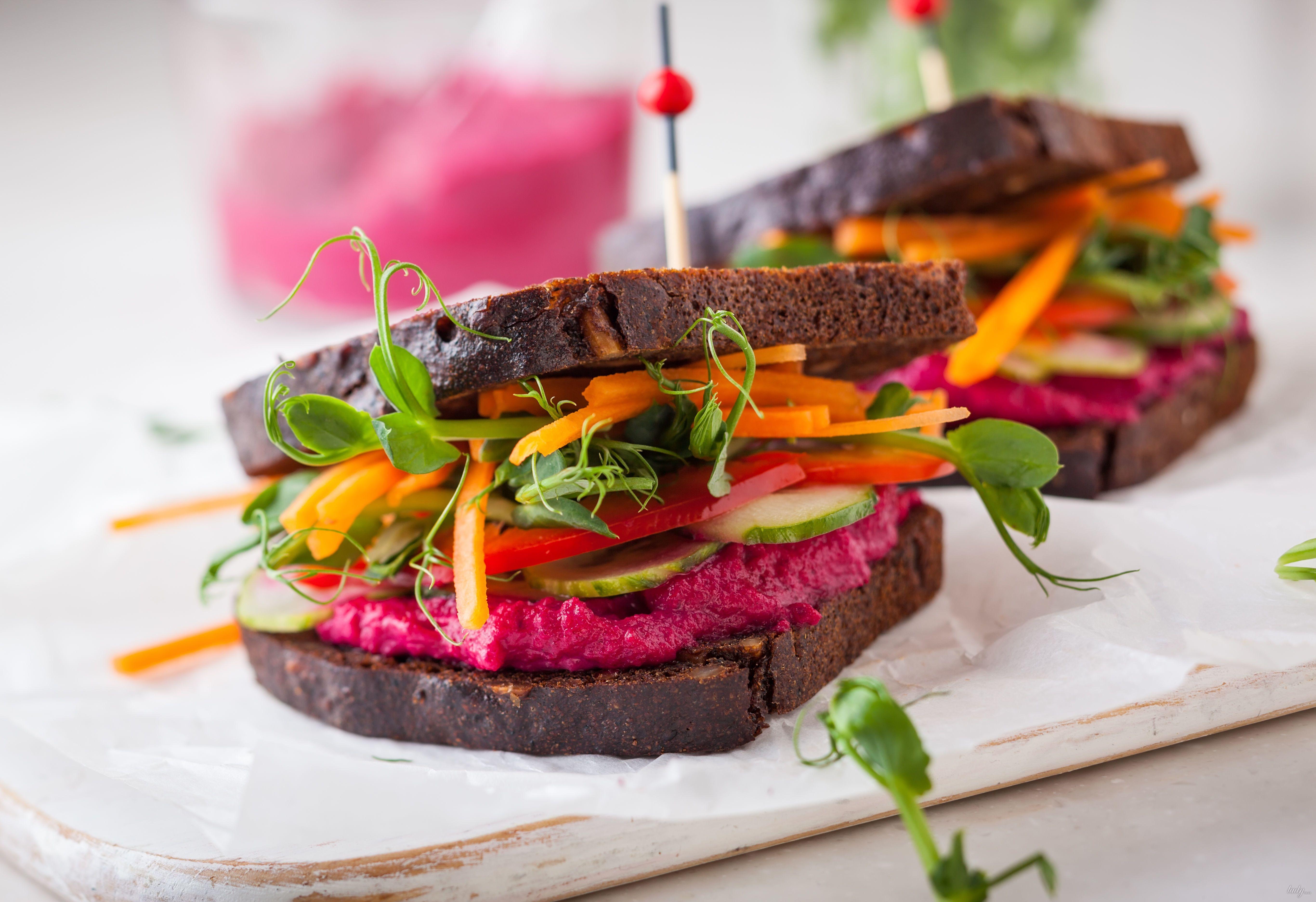 вегетаринство, закуска, овощи