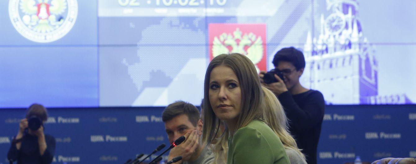 Собчак попросила в України дозвіл відвідати Крим