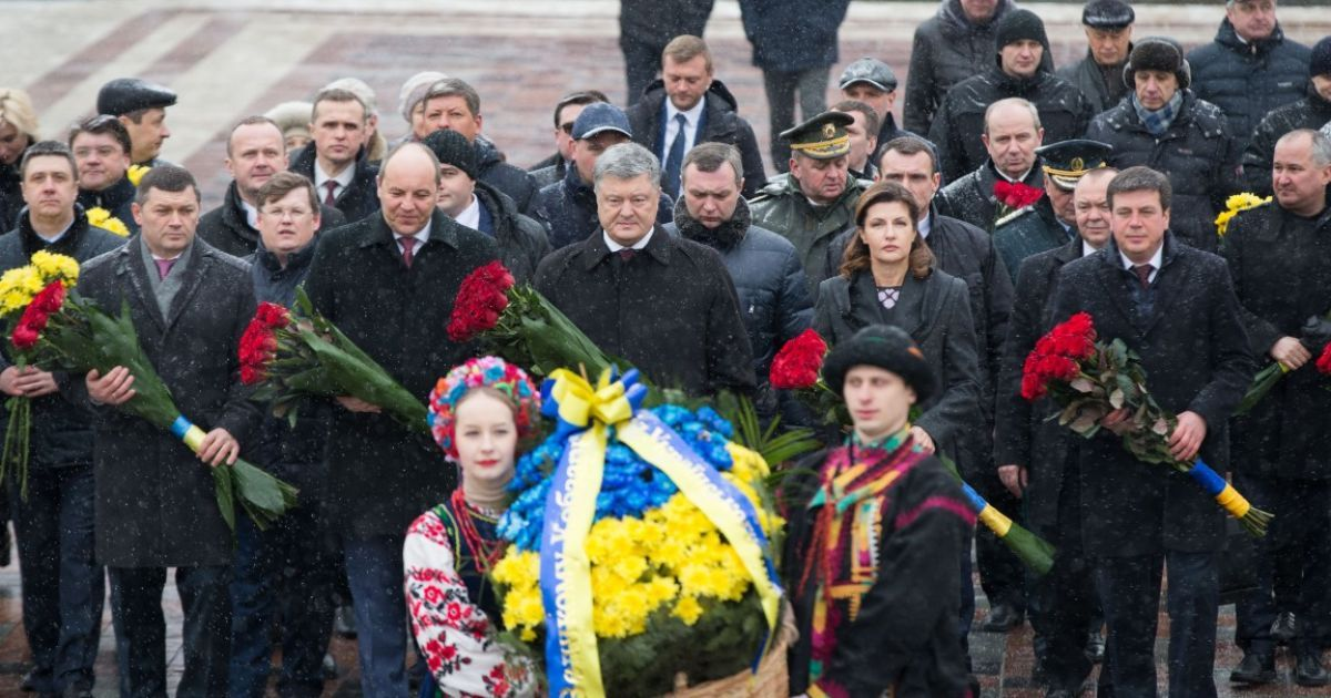 Торжества с участием властей в Киеве @ Сайт президента Украины