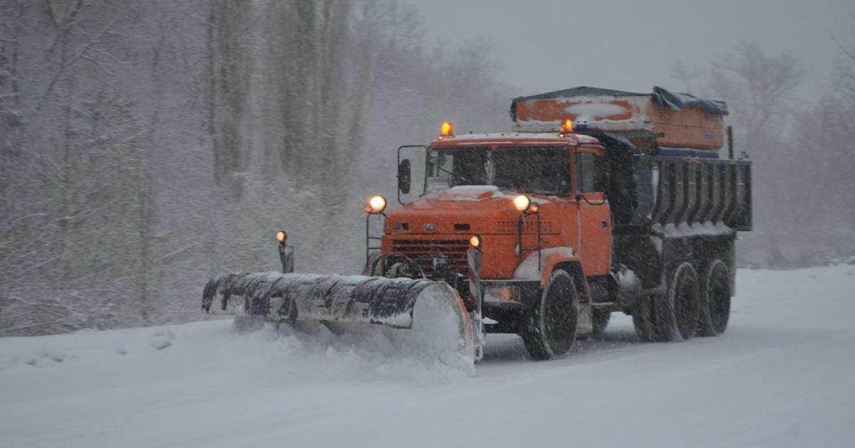 Въезд грузовиков в Киев могут ограничить из-за непогоды