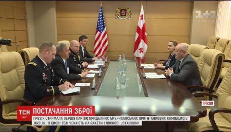 Грузия получила первую партию американских противотанковых ракетных комплексов