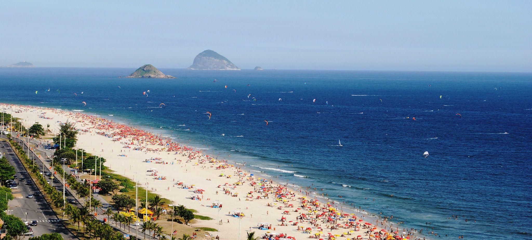 Пляж міста Ріо-де-Жанейро