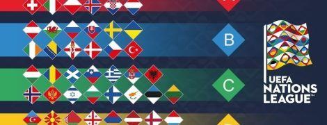 Украина - in, Германия - out: кто поднялся и опустился в дивизионах Лиги наций. Промежуточные итоги