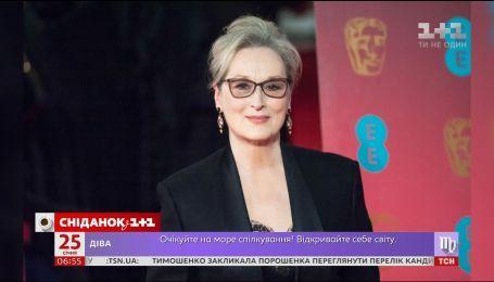 "Мерил Стрип установила рекорд, получив 21 номинацию на ""Оскар"""