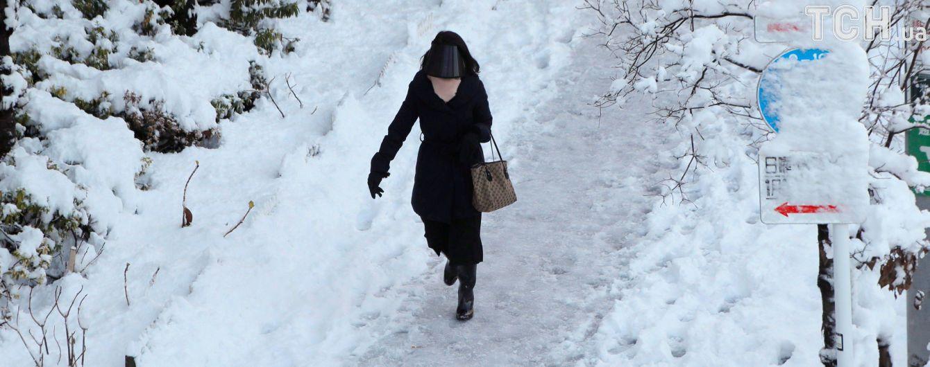 В Україні у понеділок різко похолодає
