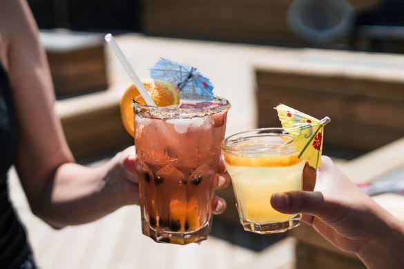 коктейлі, коктейль, алкоголь
