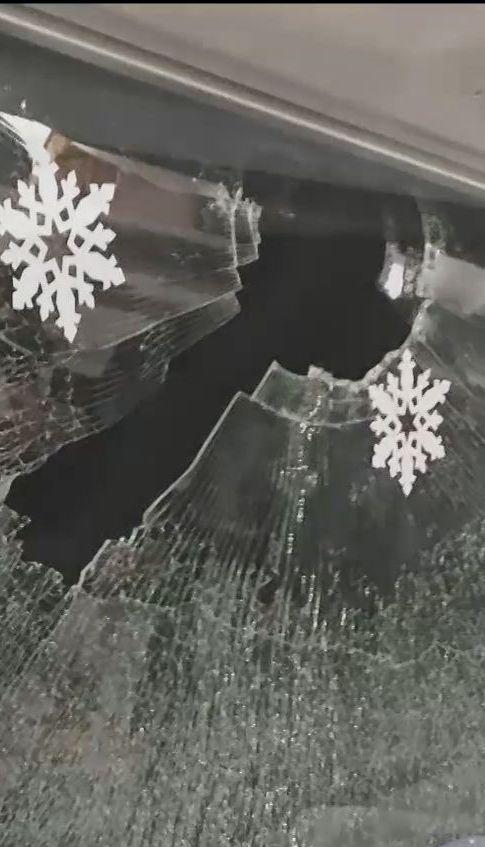 """Неизвестные бросили камень в вагон """"Интерсити"""", где сидела певица Руслана"""