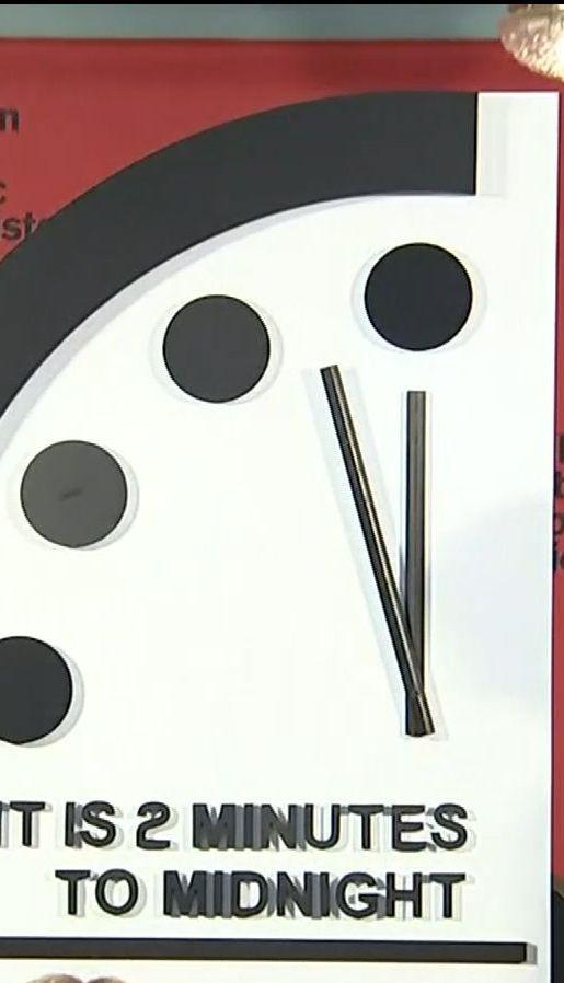 У Вашингтоні стрілку годинника Судного дня пересунули на 30 секунд вперед
