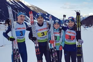 Українці стали чемпіонами у змішаній естафеті чемпіонату Європи з біатлону