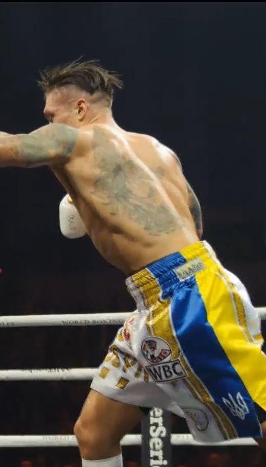 Украинский боксер Усик победил латыша Бриедис в зрелищном полуфинале WBSS
